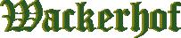 Wackerhof